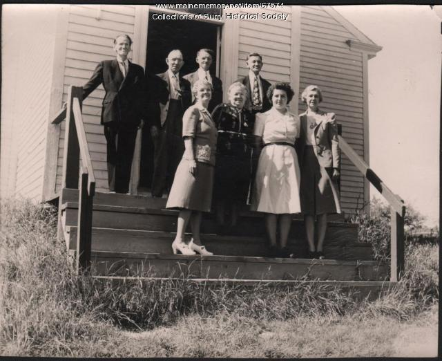 Election officials, Surry, 1948
