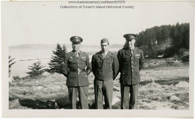 Wheaton brothers, Swan's Island, ca. 1945