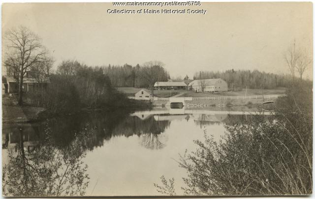 Jewett Corn Factory, Norridgewock, ca. 1915