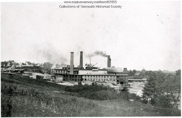 Forest Paper Co., Yarmouth, ca. 1900