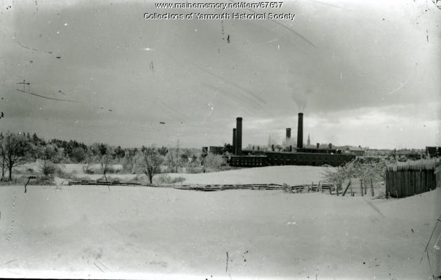 Forest Paper Company, Yarmouth, ca. 1900