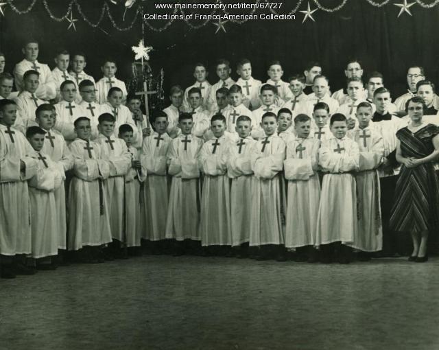Petits Chanteurs de Saint Pierre, Poland Spring, 1954