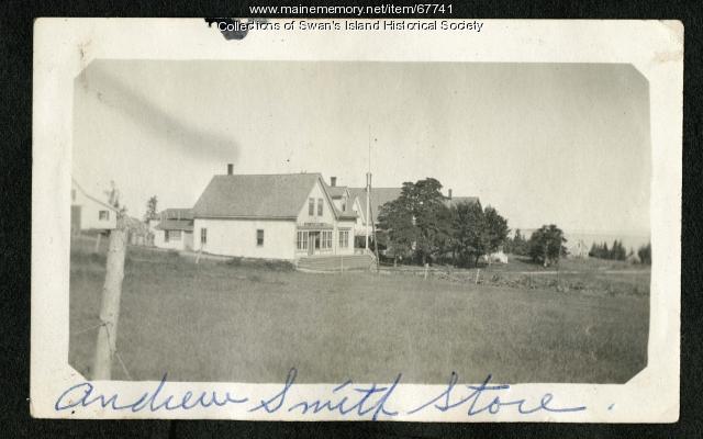 Andrew Smith's Store, Swan's Island, ca. 1935