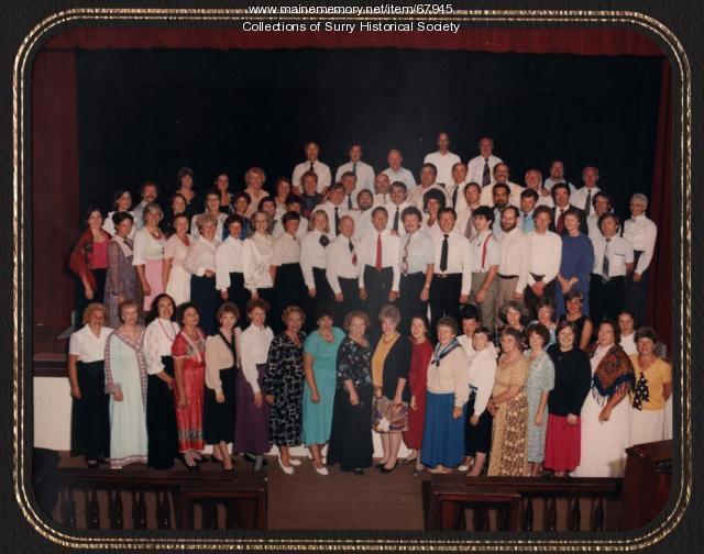 Surry Opera Company & Leningrad Amateur Opera Company,  Camden, 1989