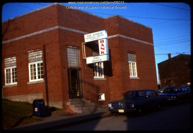 Bar Harbor Banking & Trust building, Lubec, 1975