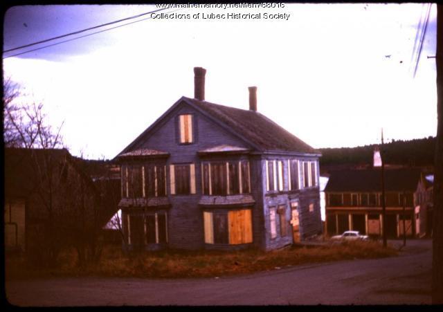 American House hotel, Lubec, 1975