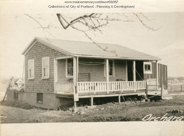 1-3 Orchard Avenue, Portland, 1924