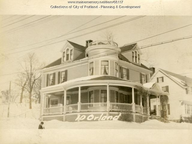 10 Orland Street, Portland, 1924