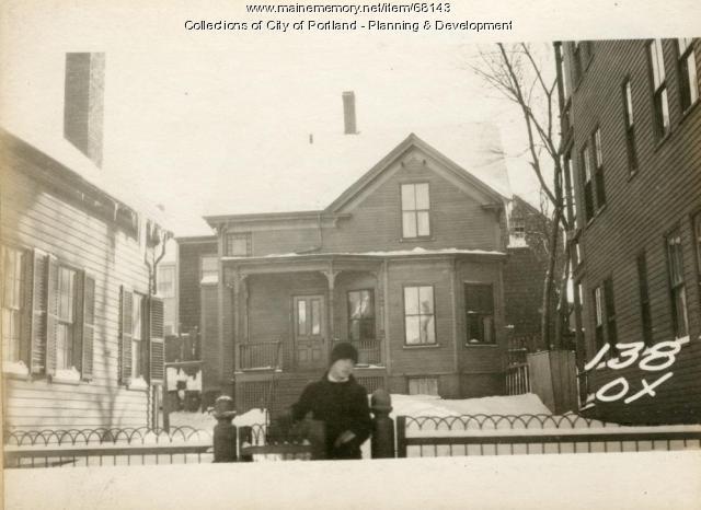 138 Oxford Street, Portland, 1924
