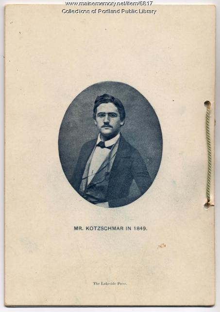 1899 Concert Program, Portland