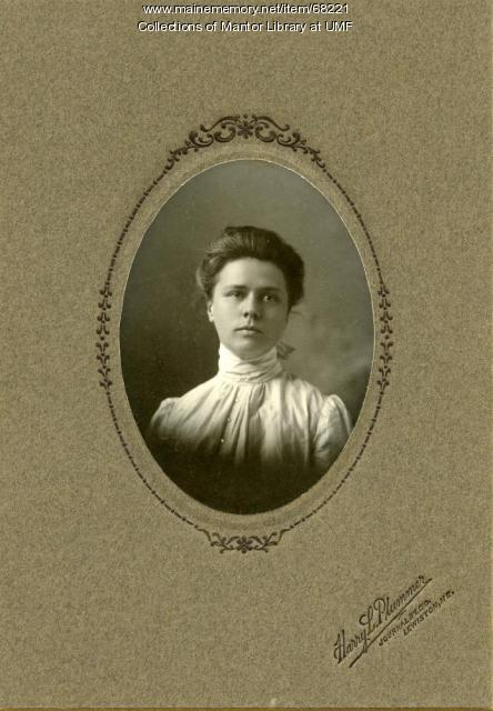 Carolyn Stone, Farmington State Normal School, 1898