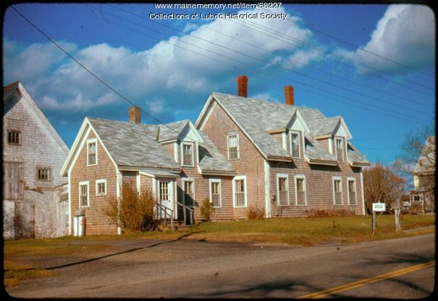 Forewinds House, Lubec, 1975