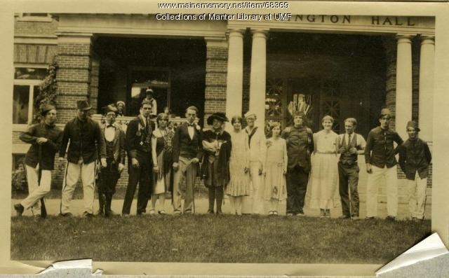 """Princess Bonnie"" opera cast, Farmington State Normal School, June 1926"