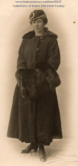 Ethel Bascome Jewett, London 1910 or 1912