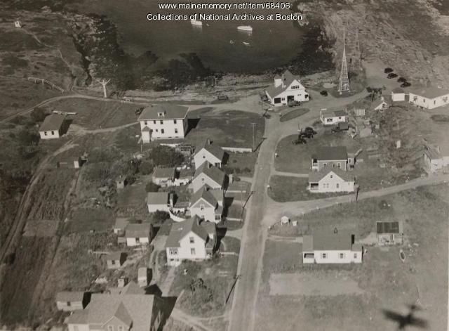 Radio direction finder station, Cape Elizabeth, 1939