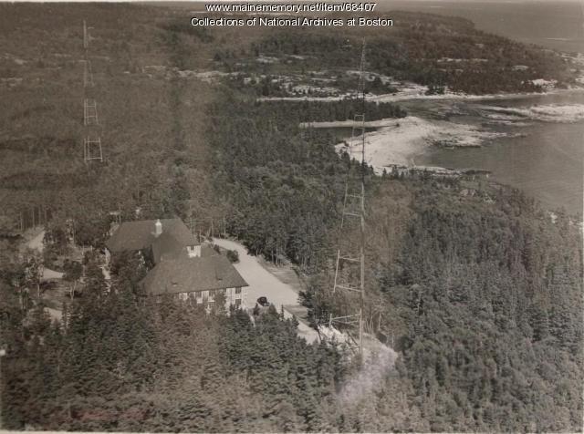 Radio direction finder station, Winter Harbor, 1939