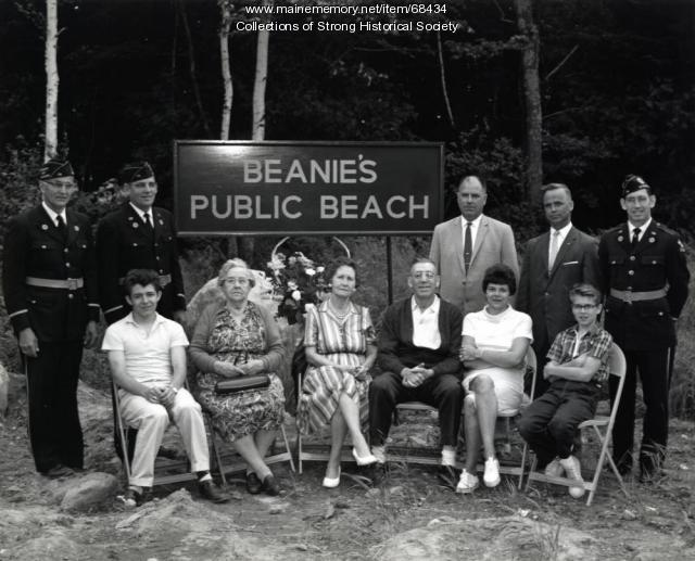 Beanie's Public Beach Dedication, Strong, ca. 1963