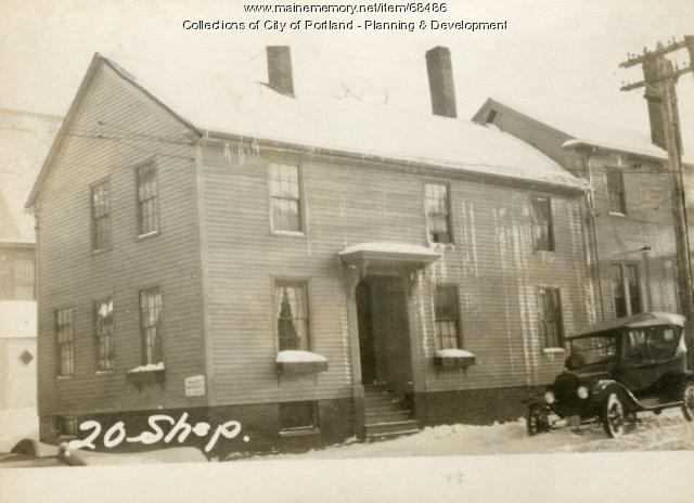 20 Shepley Street, Portland, 1924