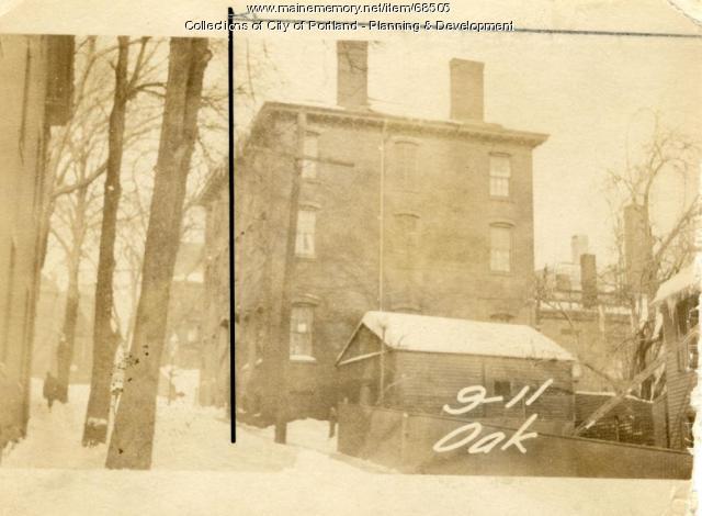 7-9 Oak Street, Portland, 1924
