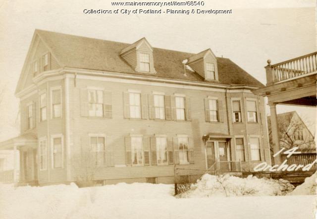 14-18 Orchard Street, Portland, 1924