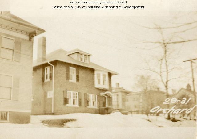 29-31 Orchard Street, Portland, 1924