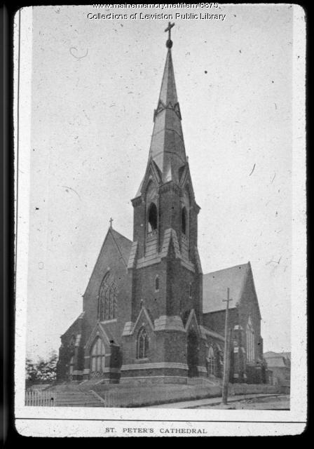 St. Peter's Church, Lewiston, ca. 1900