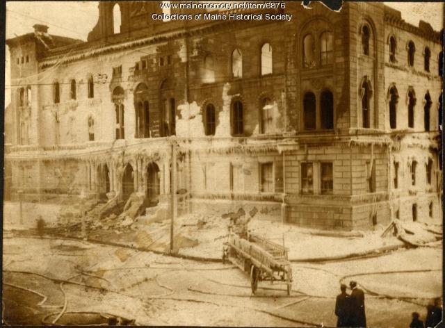 Portland City Hall fire, 1908