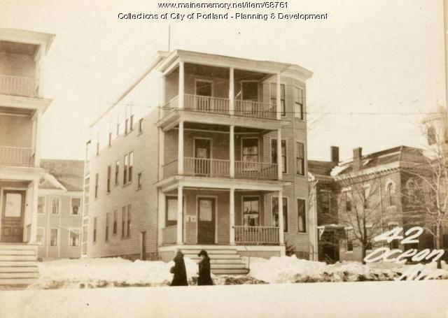 42-44 Ocean Avenue, Portland, 1924