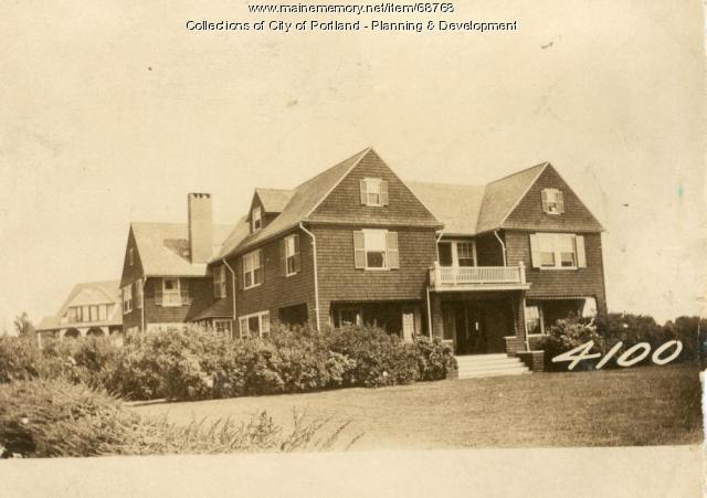 Hay property, Cushing's Island, Portland, 1924