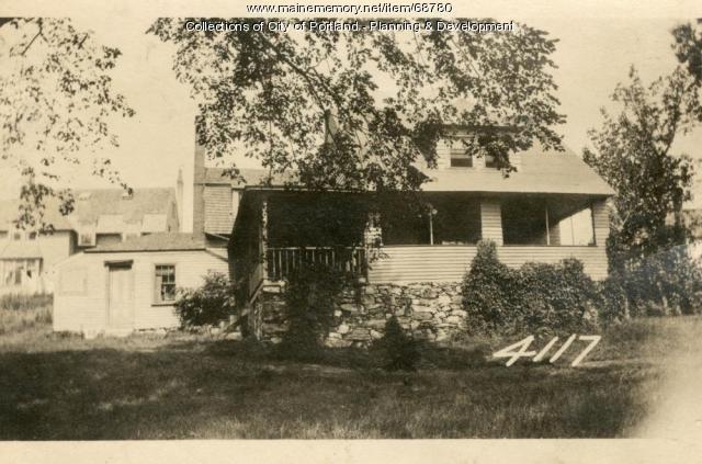 Cushing's Island Hotel & Realty Company property, Cushing's Island, Portland, 1924