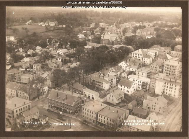 Sullivan Street looking south, Biddeford, 1915