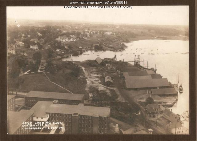 saco river looking east  saco  1915