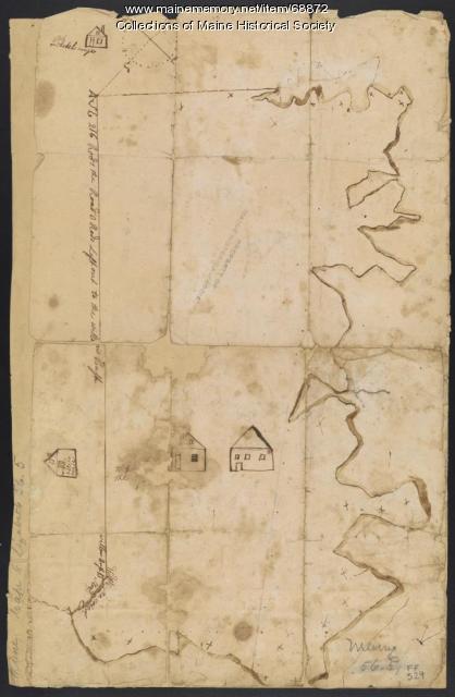 Plan of farm, Scarborough, 1741