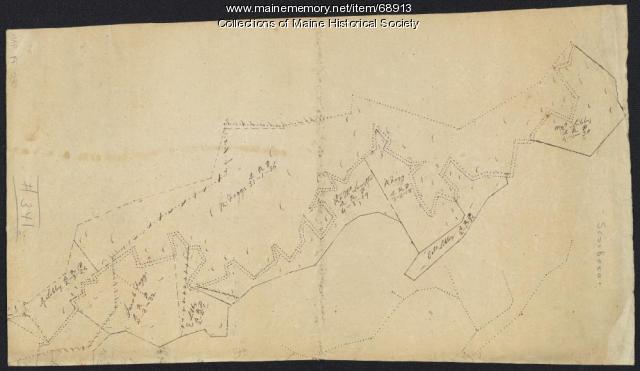 Scarborough landowners, ca. 1800
