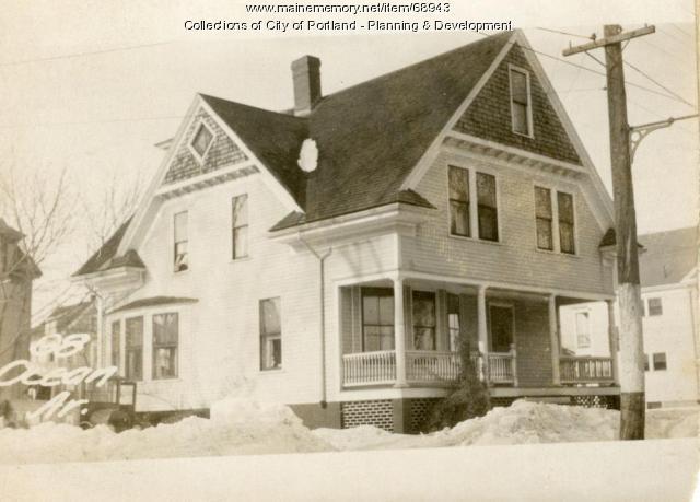 98 Ocean Avenue, Portland, 1924