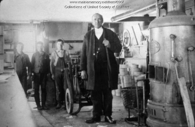 Elder Henry Green's Workshop, Alfred Shaker Village, ca. 1900