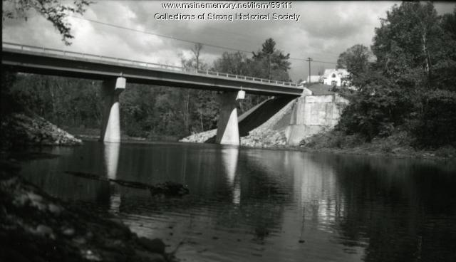 Tri-Span Bridge, Strong, ca. 1965