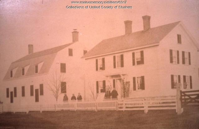 Eldresses, Alfred Shaker Village, ca. 1879