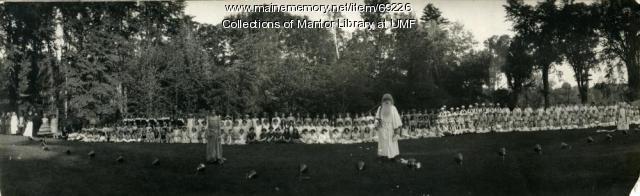 History Pageant, Farmington State Normal School, 1924