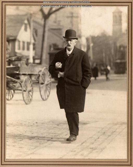 Hermann Kotzschmar, Portland, ca. 1890