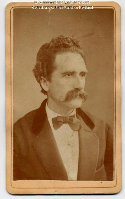 Hermann Kotzschmar, Portland, ca. 1850