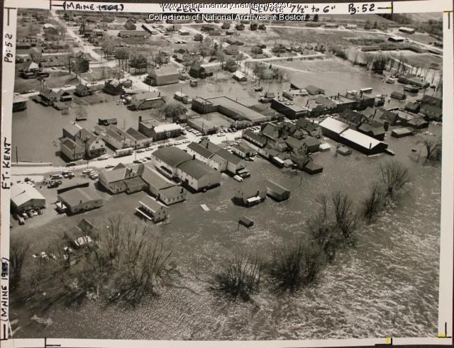 Flooding, Fort Kent, 1961