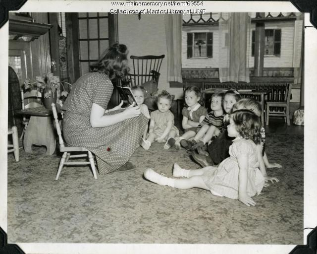 Playschool, Farmington State Normal School, ca. 1940