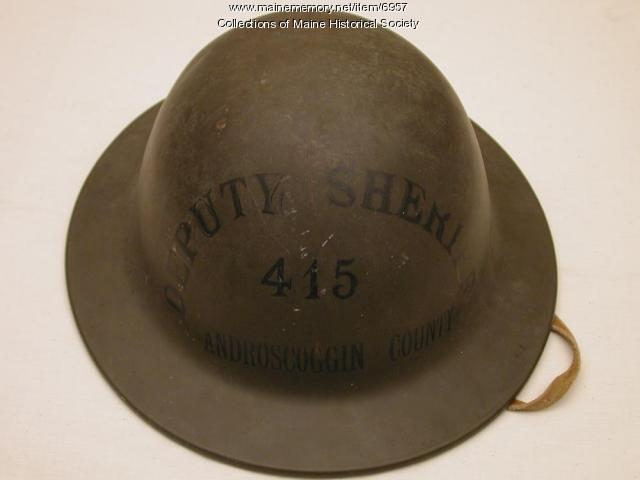 Deputy sheriff helmet