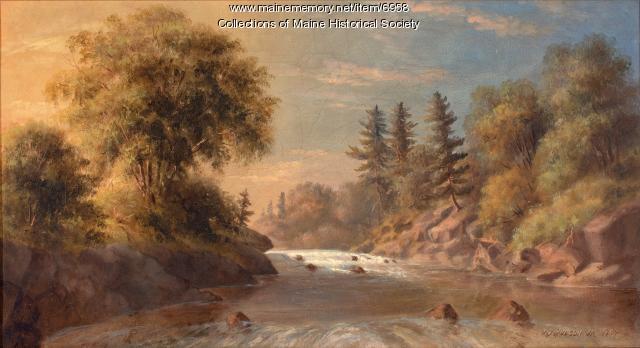 Presumpscot Falls, 1867