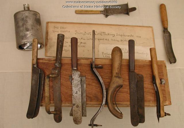 Corn knives, ca. 1858