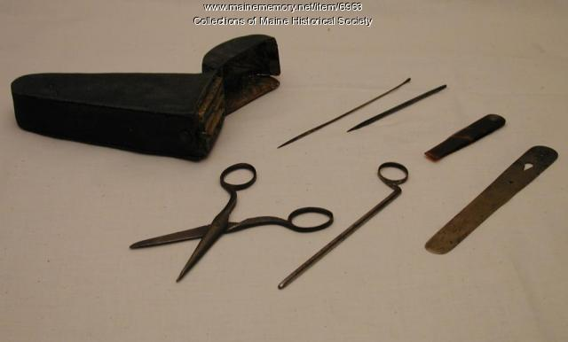 Surgical kit, ca. 1770