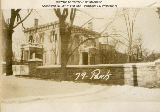 73-81 Park Street, Portland, 1924