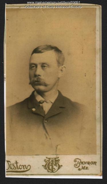 Olin Fowler, Surry, ca. 1880