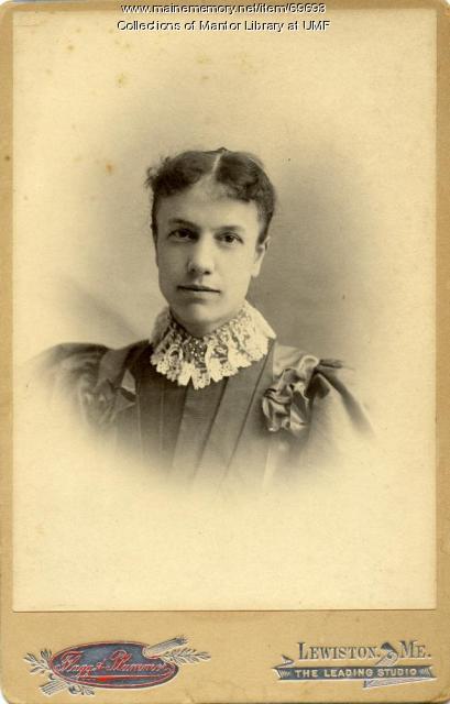 Hortense Merrill, Farmington State Normal School, ca. 1895